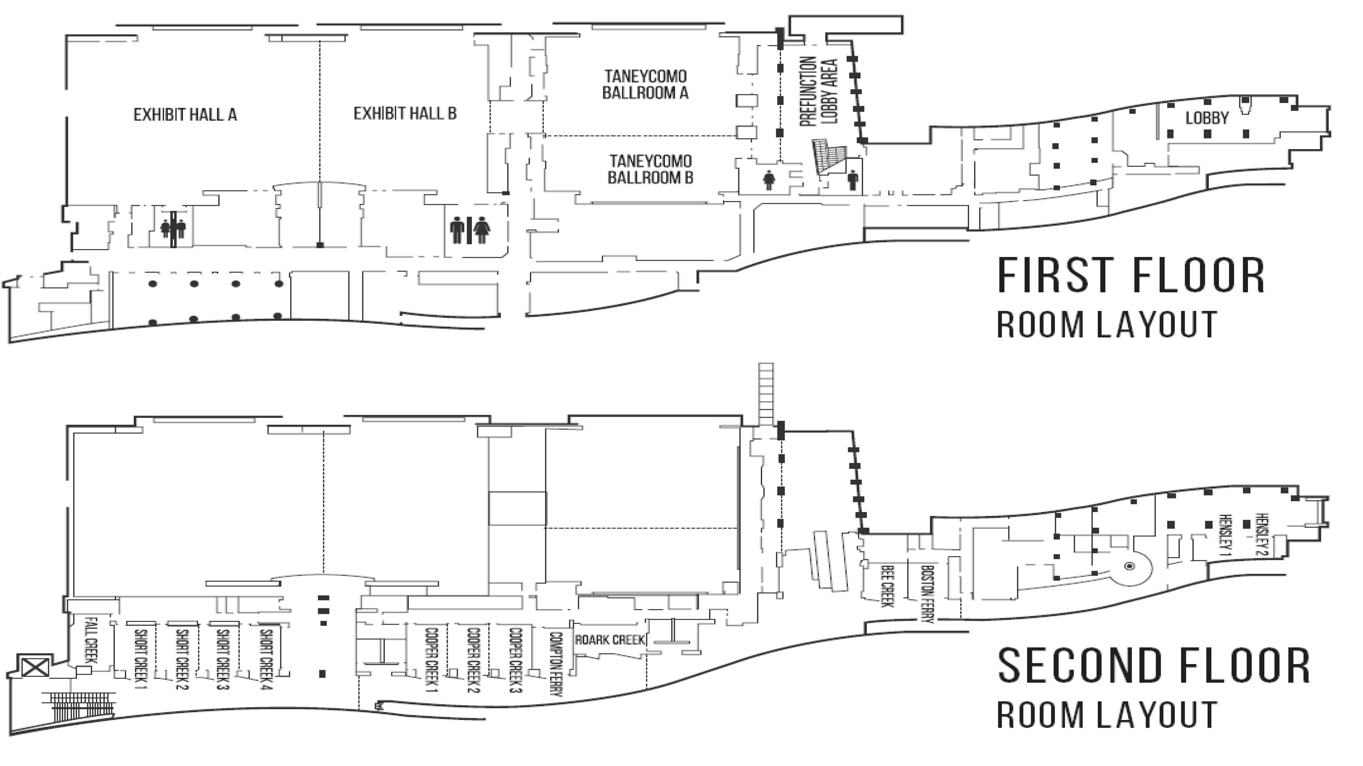 Floor Plans Floor Plans Amp Specs Branson Convention Center